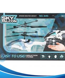 RECHARGEABLE FLYING HELICOPTER WITH HAND SENSOR